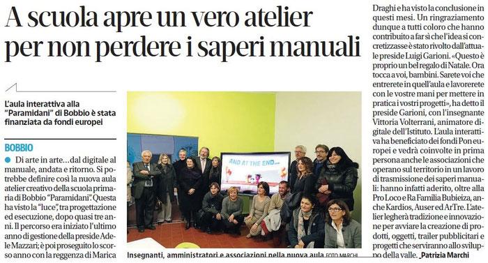quotidiano LIBERTA' -  27 dicembre 2017