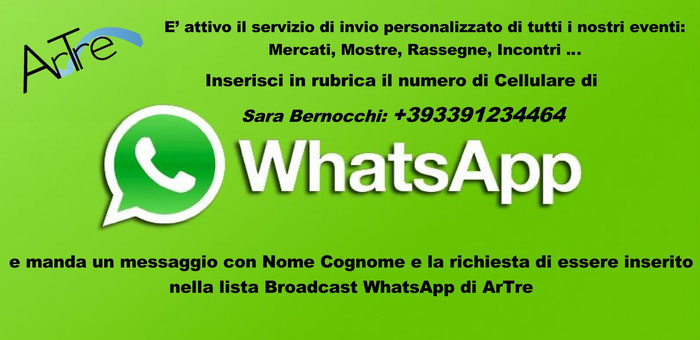 tutte le news di ArTre con whatsapp