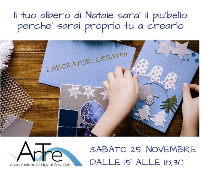 """gli """"Artigiani Creativi"""" di ArTre  Esposizioni/vendita e Laboratori  Magazzino Gelmetti sabato 25 a Fiorenzuola (PC)"""