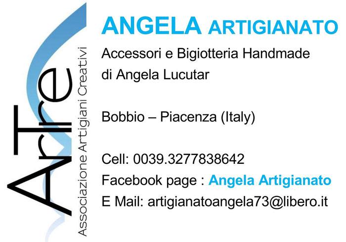 Angela Lucutar : socia artigiana di ArTre Artigiani Creativi Val Trebbia