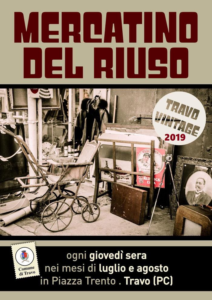 Gli Artigiani di ArTre a  TRAVO        per Travo Vintage    luglio: 11-18-25  agosto: 1-8-22  DALLE 17:00 ALLE 24: 00