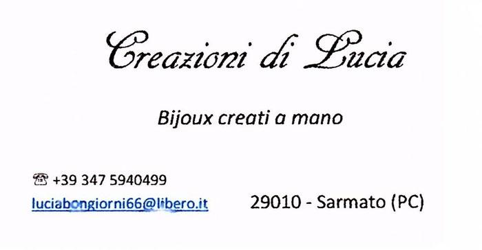 Creazioni di Lucia a Fantastico Medioevo