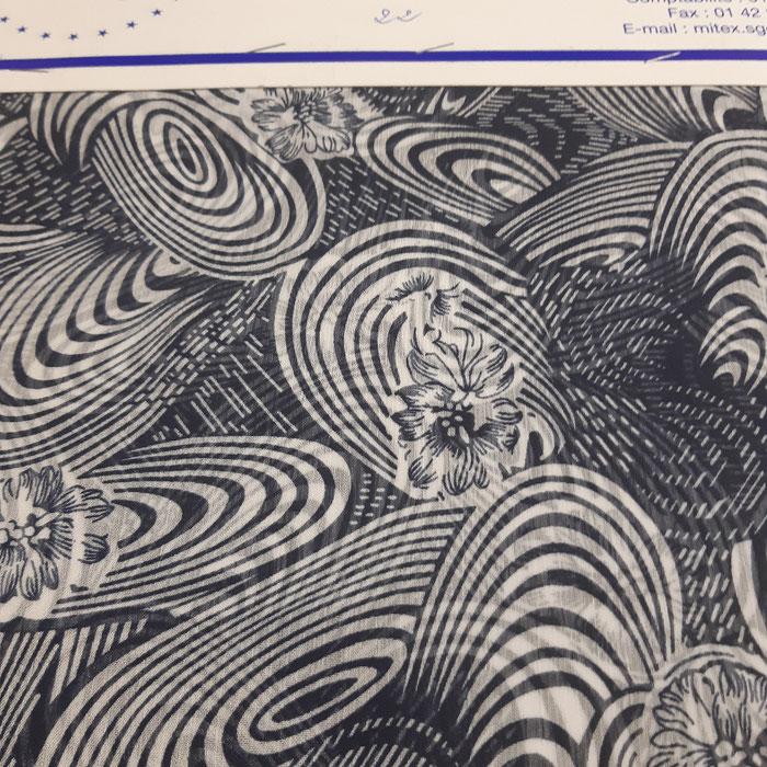 impression textile sur mousseline