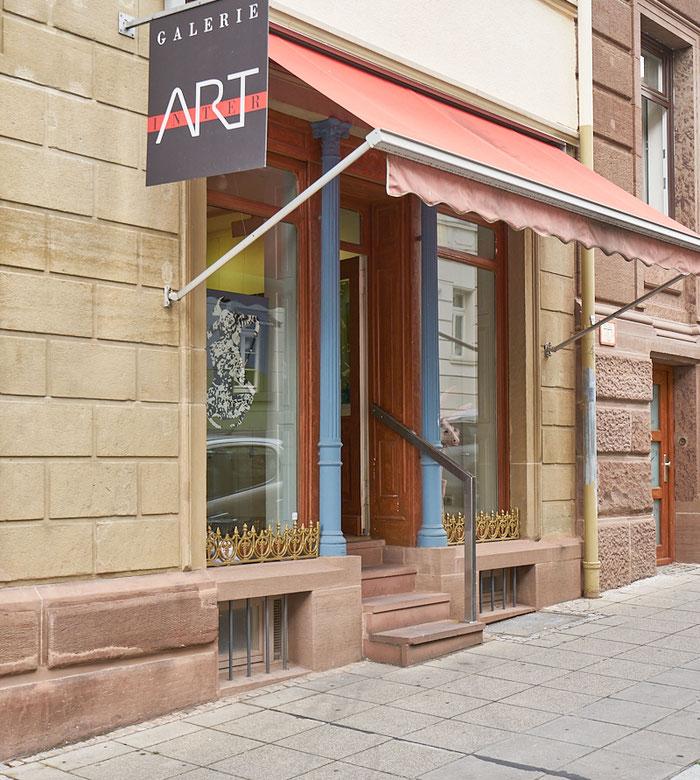 Galerie Interart, Suttgart, Rosenstraße 37