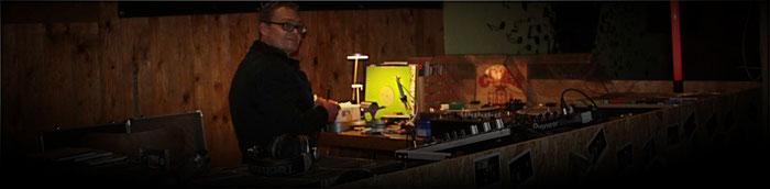 DJ Rollo Schuster in seinem Element