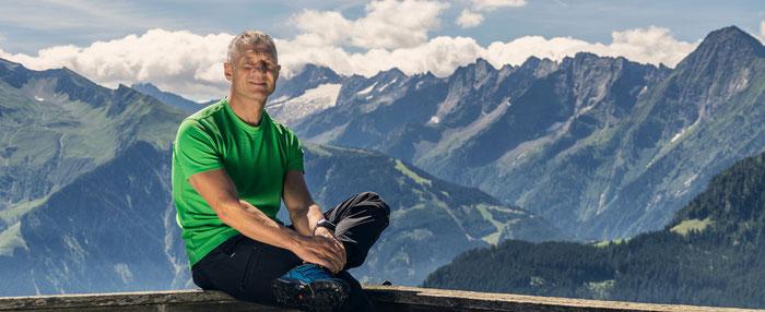 Hansjörg Aschenwald: Olympiamedaillen-Gewinner, Mitglied bei der Cobra, Mentalcoach.  Foto ©Patrick Aschenwald