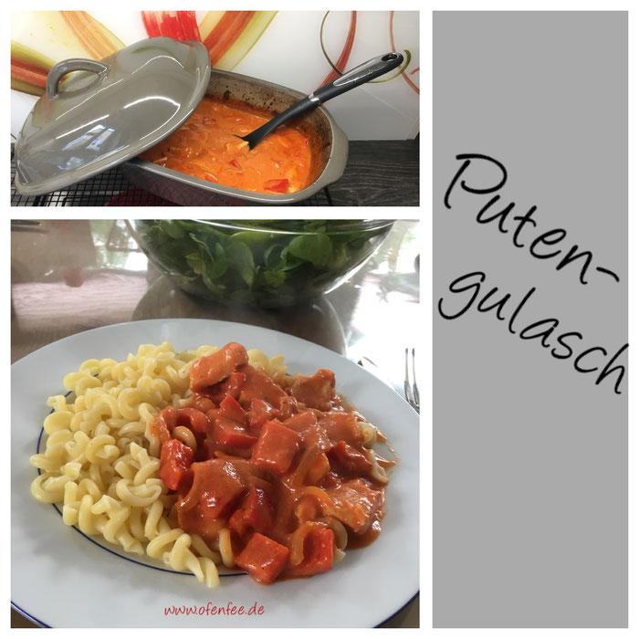 Putengulasch im Ofenmeister von Pampered Chef