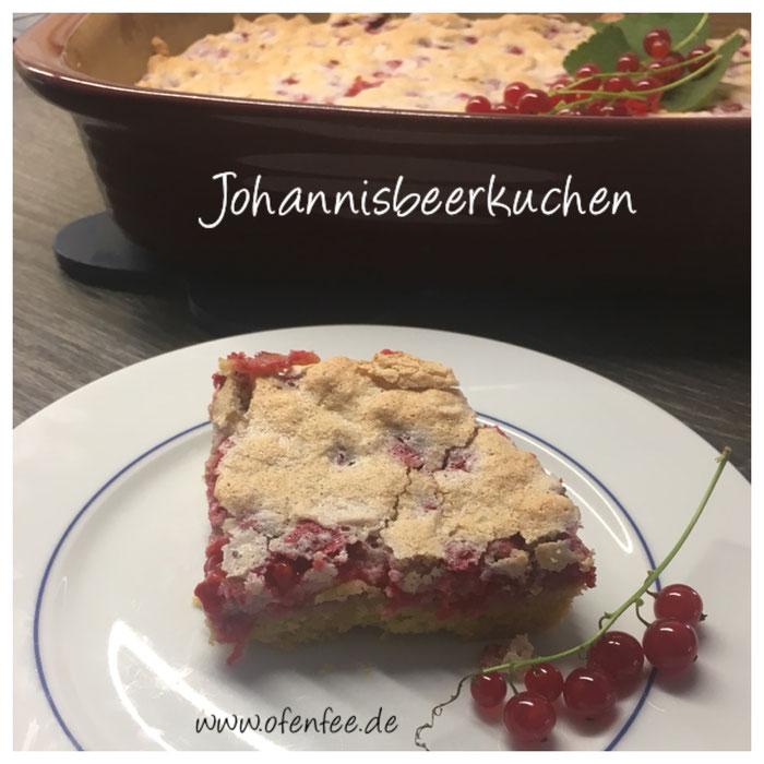 Johannisbeerkuchen aus der Ofenhexe von Pampered Chef