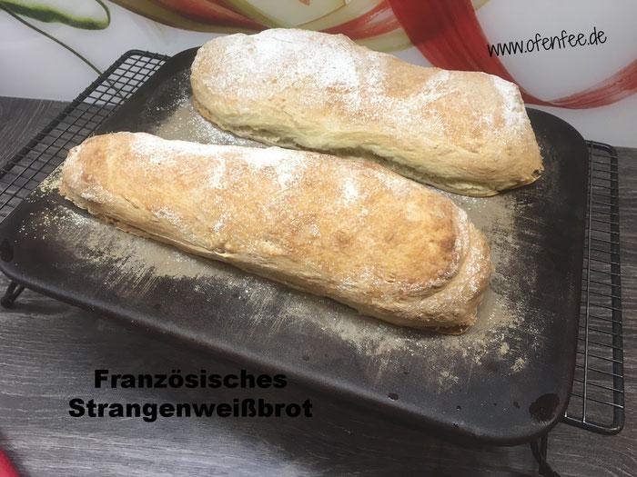 Französisches Stangenweißbrot vom Zauberstein von Pampered Chef