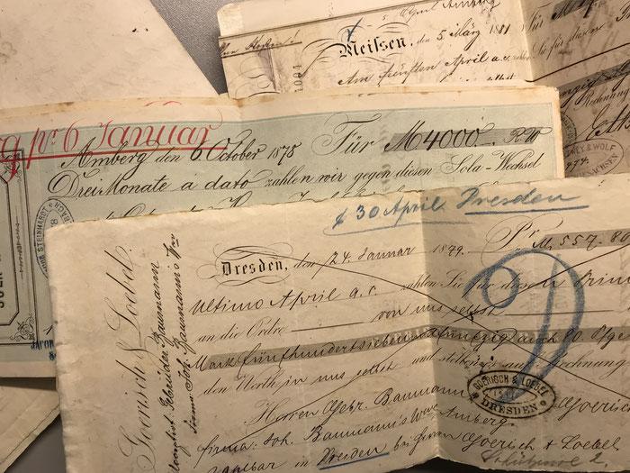 Wechsel Sammlung 1879-1885 [11]