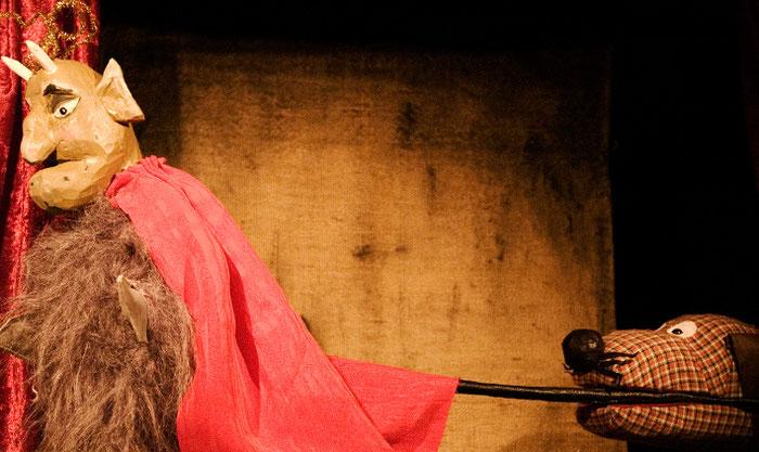 Puppentheater Gugelhupf: Kasper und der Teufel mit den drei goldenen Haaren