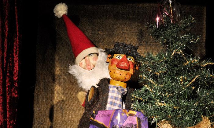 Puppentheater Gugelhupf: Oh Tannenbaum – Weihnachten bei Kasper und Gretel