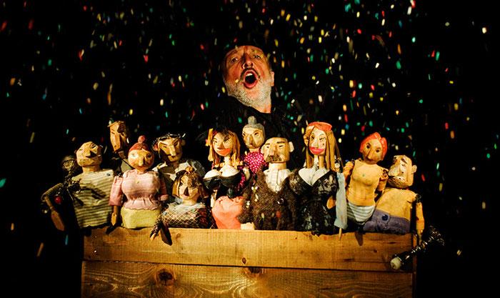 Puppentheater Gugelhupf: Die Bettleroper
