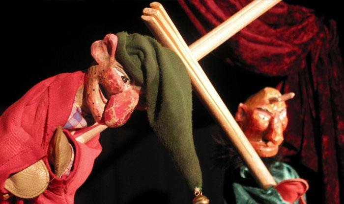 Puppentheater Gugelhupf: Kasper, Tod und Teufel