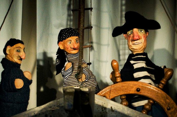Puppentheater Gugelhupf: Bounty – Meuterei in der Südsee
