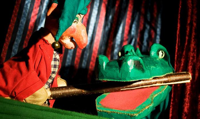 Puppentheater Gugelhupf: Kasper fängt das Krokodil