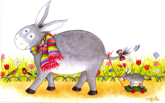 J'aime l'âne si doux - Francis Jammes