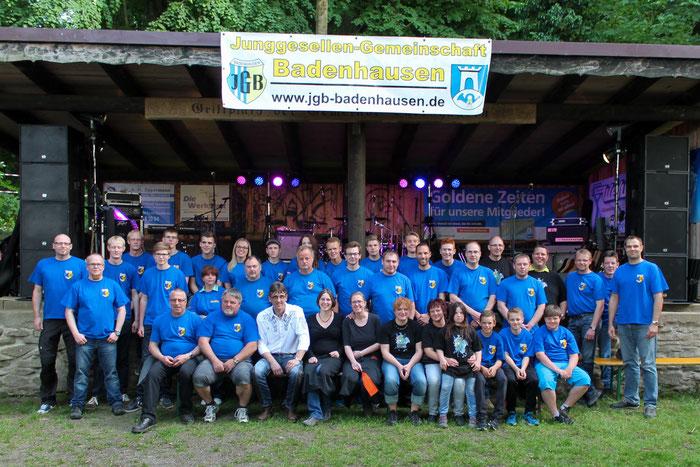 Die HelferInnen beim Hindenburgfest 2015