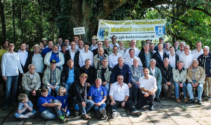 Die Teilnehmer des JGB Jung-Alt Treffens