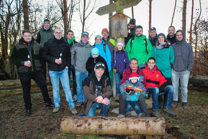 Die Teilnehmer der JGB Wanderung