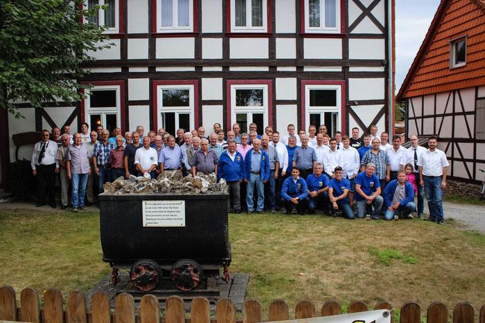Die Teilnehmer des Frühschoppen für Alt und Jung 2018