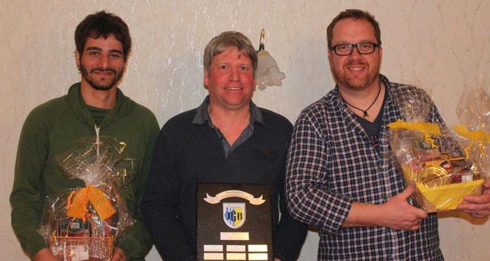Die Gewinner des JGB-Preisknobelns 2015