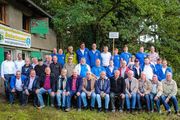 Die Teilnehmer des Frühschoppens 2017