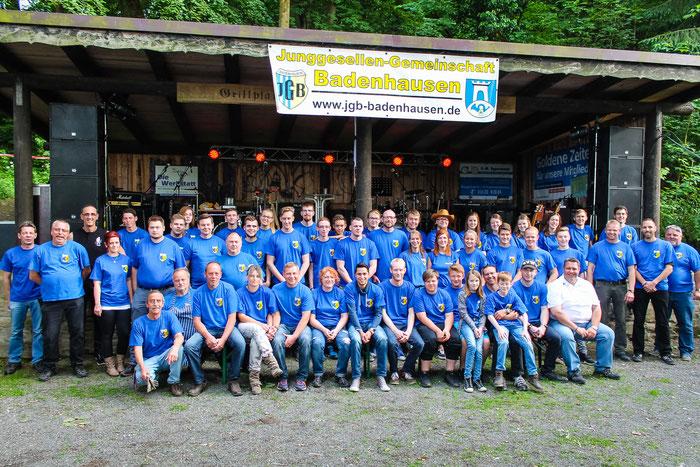Die HelferInnen beim Hindenburgfest 2017