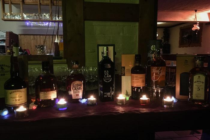 Whiskeys des Abends