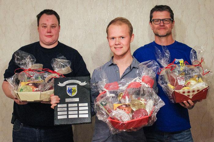Die Gewinner des JGB-Preisknobelns 2017