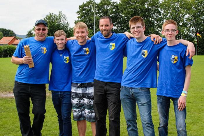Die Teilnehmer des Wikingerschach-Turniers