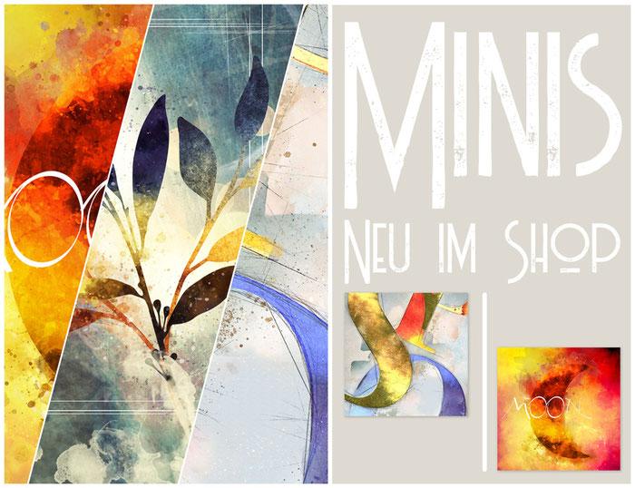 Neue Shopartikel - Minis -