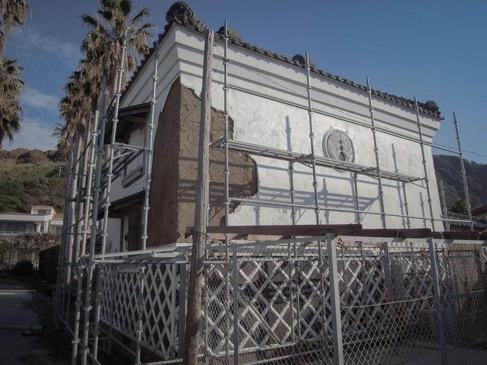 伝統建築 富津金谷 『鈴木家住宅石蔵』