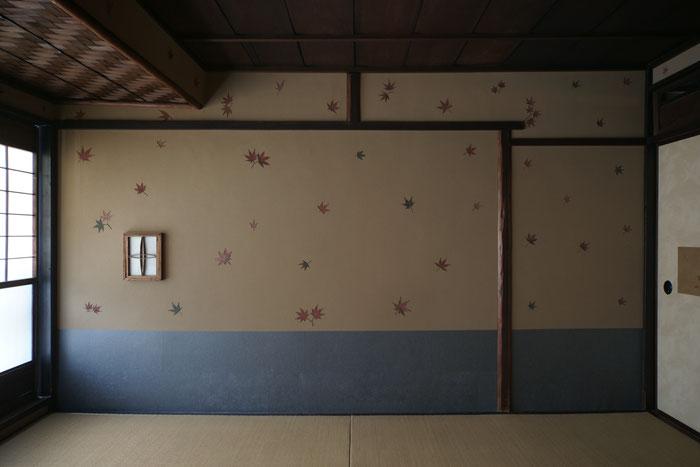 久住有生 施工作品 伝統建築 『輪違屋 「もみじの間」』