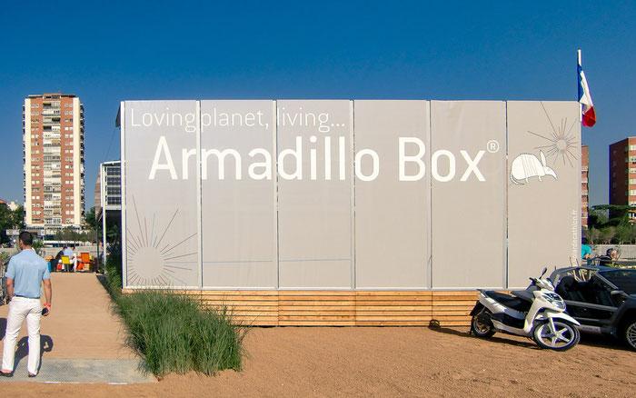 久住有生 施工作品 海外 armadillo box