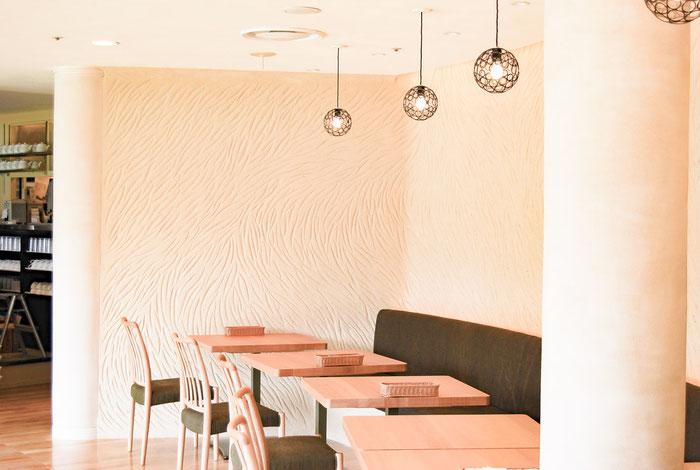 左官職人 久住有生(くすみ なおき)施工作品 飲食店『レストラン TOOTH TOOTH』