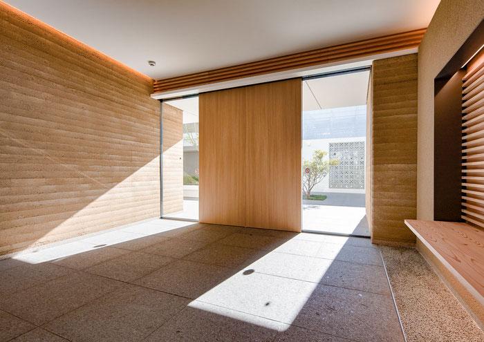 左官 久住有生 施工作品 集合住宅『イニシア武蔵新城ハウス』
