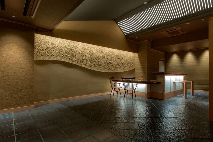 左官職人 久住有生(くすみなおき)施工作品 宿泊施設 『清水小路 坂のホテル京都』