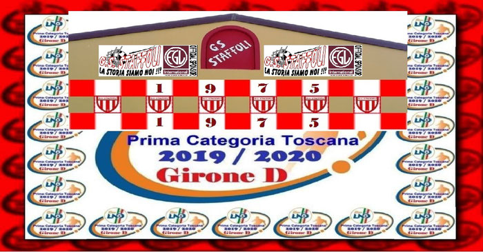 Calendario Prima Categoria Toscana.La Squadra 2019 2020 G S Staffoli