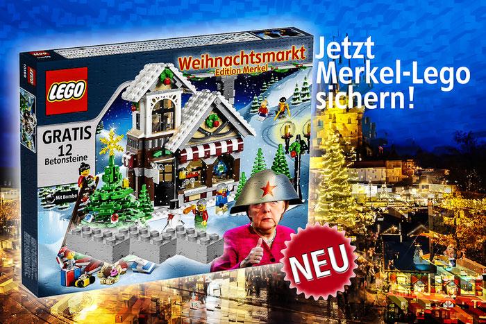 Lego Weihnachtsmarkt.Merkel Lego Schattenboxerblog