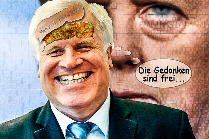 Horst Seehofer, CSU, Merkel, CDU, Politik, Satire