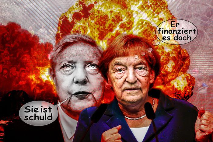 Merkel Und Soros