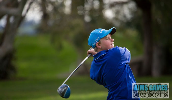 Tyler Van Asselt - 2015 AIMS INTERNATIONAL GAMES  Stableford WINNER !