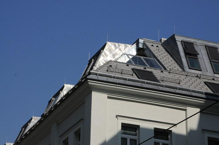 Dachgeschoßausbau Architektin Monika Lehner Wien