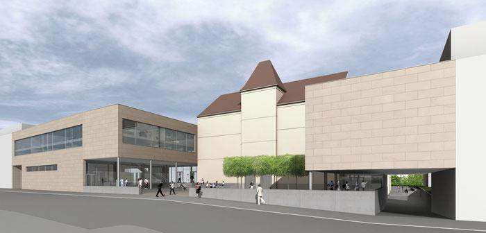 Schule HAK Architektin Lehner