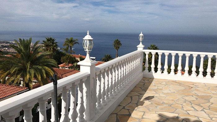 Villa Sol mit beheiztem Pool auf Teneriffa in santa Ursula