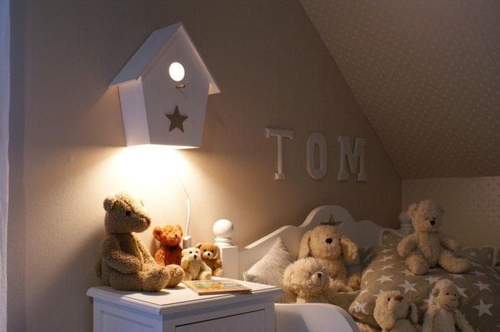 leuchtende Kinderzimmerlampe