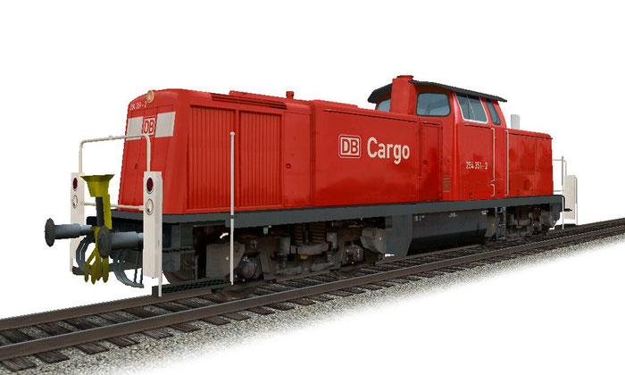 DB BR294 322-2 DB Cargo