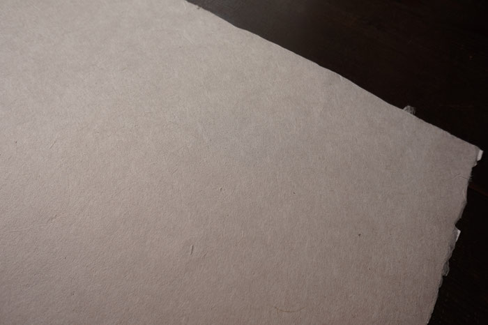 能登仁行和紙 壁紙 ベンガラ入紙 自然素材
