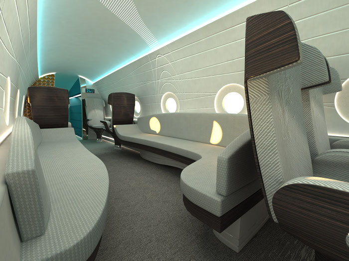 Interior design for Sonicstar / Hypermach project by Octuri